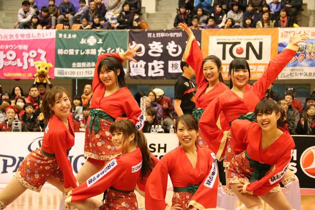 2014/12/28 対東京サンレーヴス戦 バンビーナス - 1