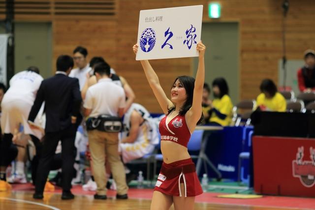 2019/11/24 群馬クレインサンダーズ戦 バンビーナス Haru - 4