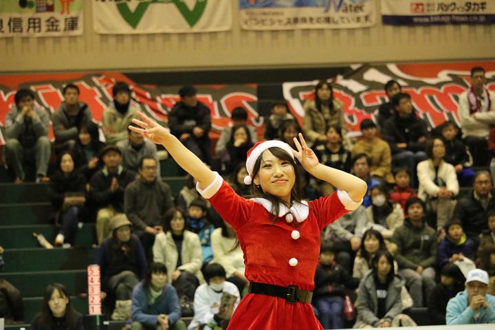 2013/12/21 X'masバージョンのバンビーナス #06 fumika