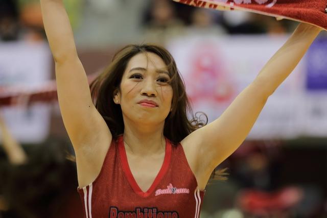 2018/11/24 信州ブレイブウォリアーズ戦 バンビーナス Fumika - 2