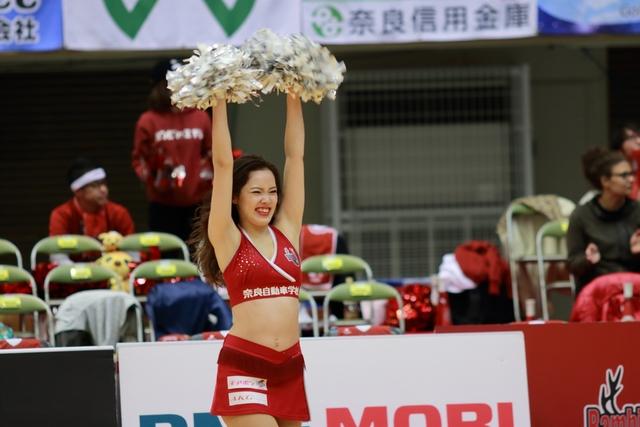 2018/11/25 信州ブレイブウォリアーズ戦 バンビーナス Yuzuki - 1