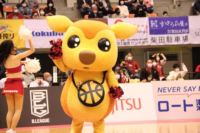 2021/4/18 対佐賀バルーナーズ戦 シカッチェ - 3