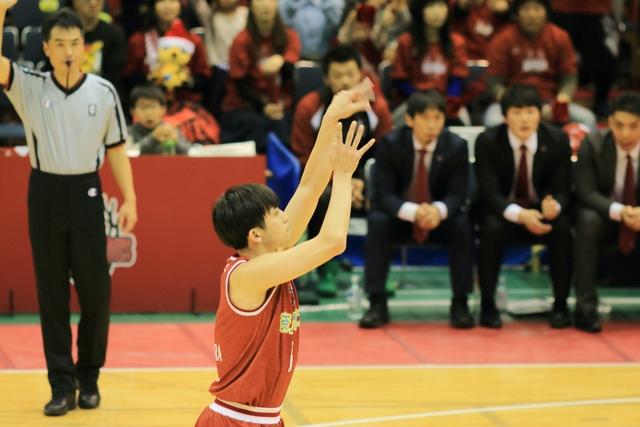 2018/12/12 島根スサノオマジック戦 #3 前村雄大 - 2