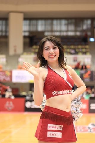 2020/12/06 対愛媛オレンジバイキングス戦 バンビーナス Kanako