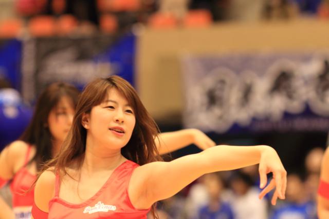 2016/04/03 対島根スサノオマジック戦 バンビーナス #5 AKARI