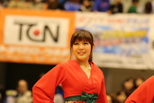 2015/01/24 対島根スサノオマジック戦 バンビーナス#1 HIROMI - 4