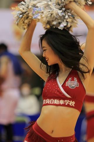 2020/12/06 対愛媛オレンジバイキングス戦 バンビーナス Haruka - 2