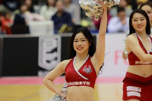 2018/11/25 信州ブレイブウォリアーズ戦 バンビーナス Miyuki - 2