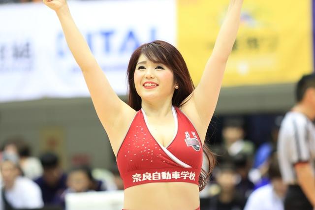 2018/10/28 愛媛オレンジバイキングス戦 バンビーナス Lisa