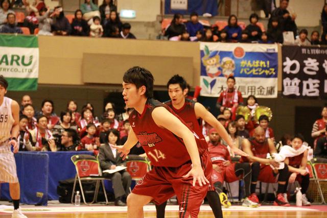 2014/04/13 対島根スサノオマジック戦 #14 稲垣選手