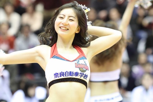 2017/03/11 対愛媛オレンジバイキングス戦 バンビーナス Misa