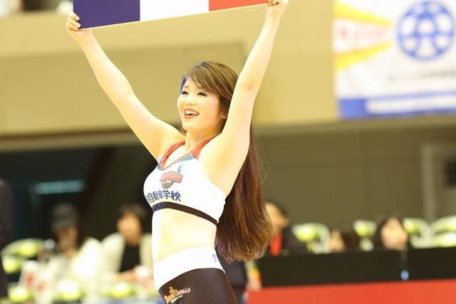 2017/03/26 対東京エクセレンス戦 バンビーナス Lisa - 2