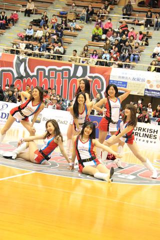 2016/02/21 対高松ファイブアローズ戦 バンビーナス