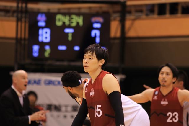2019/10/27 愛媛オレンジバイキングス戦 #15 井出勇次 - 2