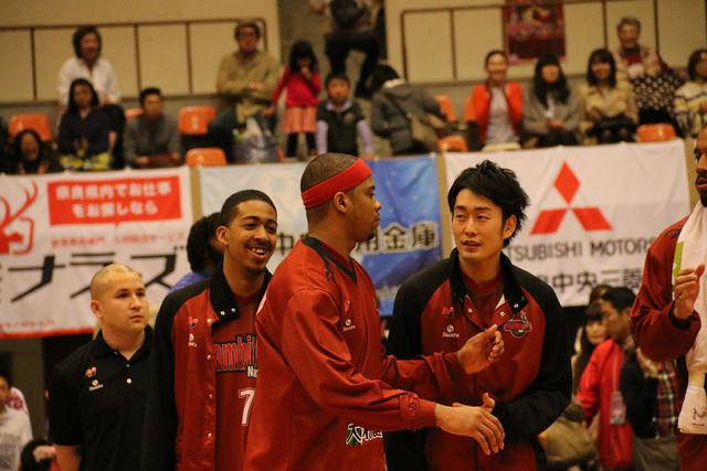 2014/04/12 対島根スサノオマジック戦 MVP ジョー・チャップマン選手 - 1