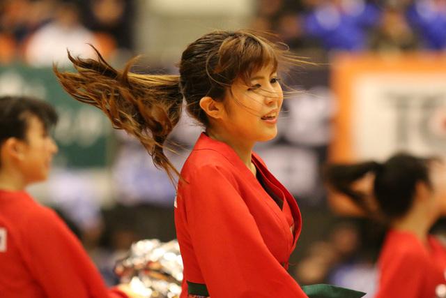 2015/01/25 対島根スサノオマジック戦 バンビーナス #1 HIROMI - 5