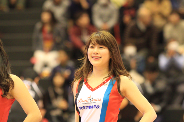 2016/03/13 対琉球ゴールデンキングス戦 バンビーナス #5 AKARI