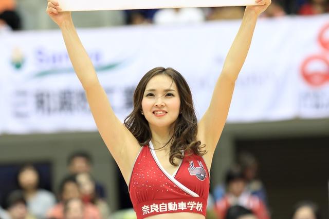 2018/10/28 愛媛オレンジバイキングス戦 バンビーナス Yuiko - 1