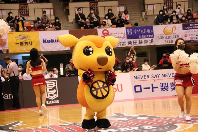 2021/4/18 対佐賀バルーナーズ戦 シカッチェ - 4