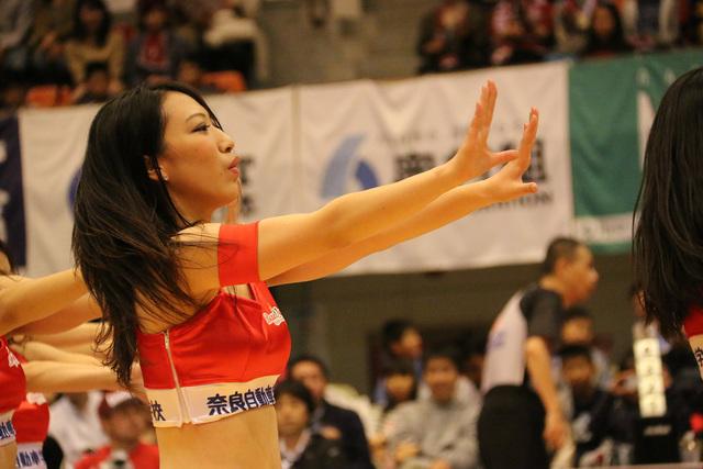 2015/11/07 対京都ハンナリーズ戦 バンビーナス #6 FUMIKA - 2