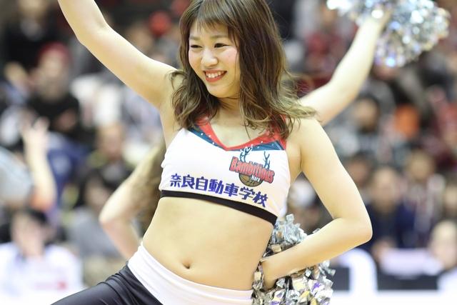 2017/03/11 対愛媛オレンジバイキングス戦 バンビーナス Yuki - 1