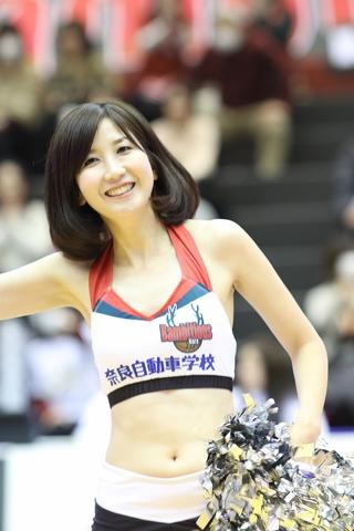 2017/03/11 対愛媛オレンジバイキングス戦 バンビーナス - 1