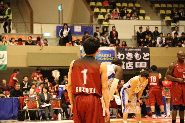 2014/04/12 対島根スサノオマジック戦 #1 鈴木達也選手
