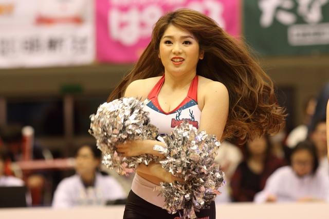 2017/04/16 対西宮ストークス戦 バンビーナス Lisa - 2