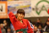 2015/01/25 対島根スサノオマジック戦 バンビーナス #1 HIROMI - 3