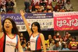 2015/11/07 対京都ハンナリーズ戦 バンビーナス - 2