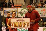 2014/04/12 対島根スサノオマジック戦 MVP ジョー・チャップマン選手 - 2